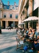 Paris side walks