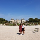 Jardin du Luxembourg with mum