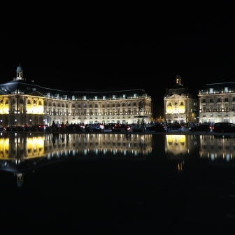 Miroir d'eau by night