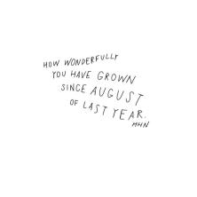 A YEAR AGO