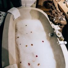 Bubble bath bliss
