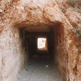 Beach tunnel