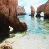 Farol da Ponta da Piedade grotto